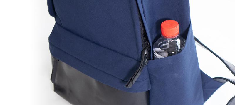 ペットボトルホルダー+滑り止めポケットについて