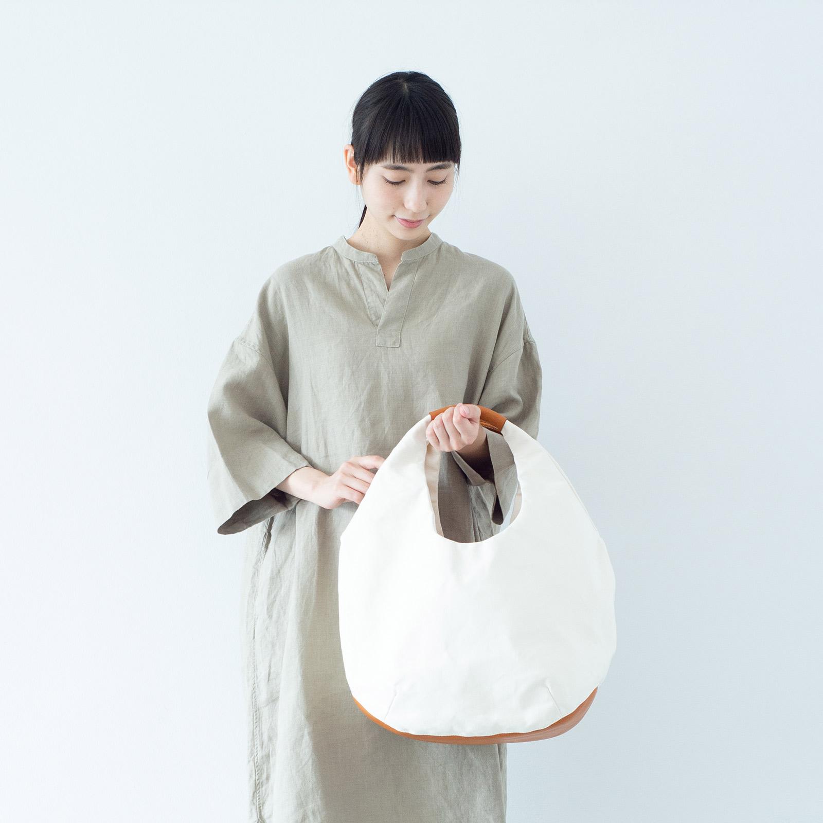まんまるが愛らしい和紙のバルーンバッグ
