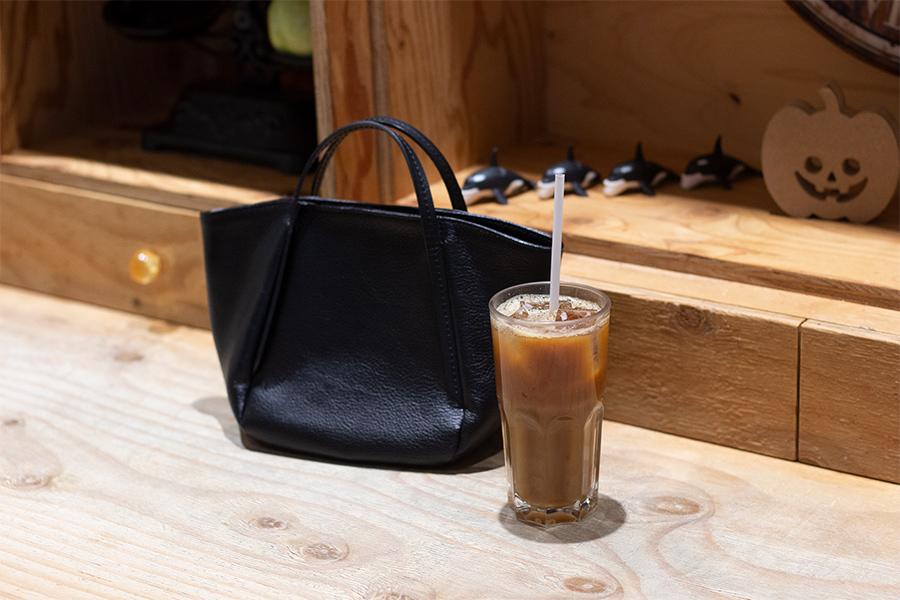 アイスコーヒーとA3petit