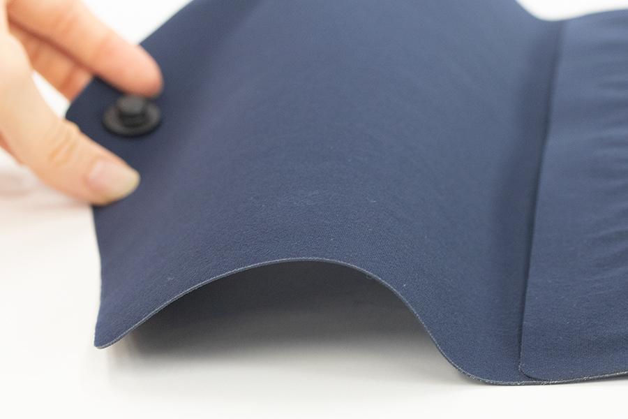 コンブナイロンの精密な圧着加工面
